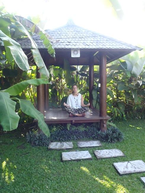 Espacio de nuestra villa para meditar.